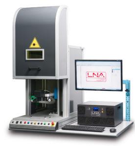 LASF Fiber Laser Marking System from LNA Laser